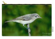 Warbling Vireo Vireo Gilvus Carry-all Pouch