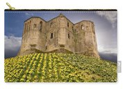 Warkworth Castle In The Sky Carry-all Pouch