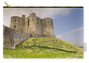 Warkworth Castle With  Daffodils Carry-all Pouch
