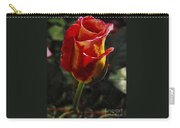 Warm Colored Rosebud  Carry-all Pouch