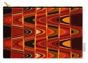 Warm Colors Lines And Swirls Abstract Carry-all Pouch