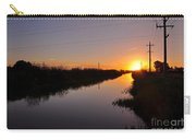 Warm Rural Sunset Carry-all Pouch