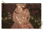 Warm Weather Snowman Carry-all Pouch