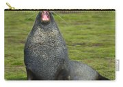 Warning Growl Carry-all Pouch by Tony Beck