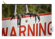 Warning Carry-all Pouch