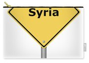 Warning Sign Syria Carry-all Pouch