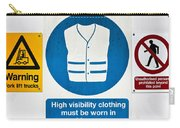 Warning Signs Carry-all Pouch