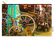 Warrenton Antique Days Wood Wheels And Wonders Carry-all Pouch