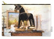 Warrenton Antique Market Toy Horse Carry-all Pouch