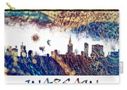 Warsaw Skyline Postcard Carry-all Pouch