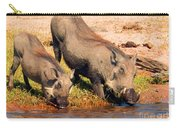 Warthog Family Carry-all Pouch