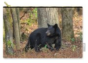 Wary Black Bear Carry-all Pouch