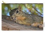 Wary Squirrel Carry-all Pouch