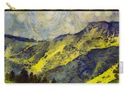 Wasatch Range Spring Colors Carry-all Pouch