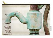 Wash Your Hands Child's Bathroom Decor Carry-all Pouch
