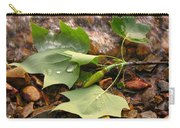 Washed Up Leaves Carry-all Pouch