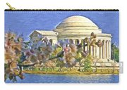 Washington Cherry Blossoms Carry-all Pouch