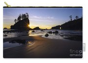 Washington Coast Evening Sunstar Tide Carry-all Pouch