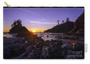 Washington Coast Sunset Dusk Carry-all Pouch