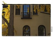 Washington D C Facades - Dupont Circle Neighborhood In Yellow Carry-all Pouch