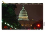 Washington Dc At Night Carry-all Pouch