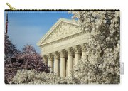 Washington Dc Cherry Blossom Supreme Court Carry-all Pouch