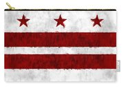 Washington D.c. Flag Carry-all Pouch