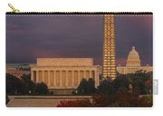 Washington Dc Iconic Landmarks Carry-all Pouch
