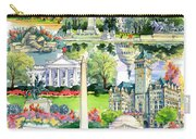 Washington Dc Painting Carry-all Pouch