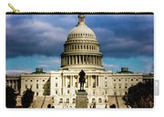 Washington D.c. - Storm Clouds Build Carry-all Pouch