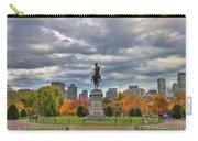 Washington In The Public Garden Carry-all Pouch by Joann Vitali