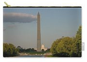 Washington Monument And Capitol Building-2 Carry-all Pouch