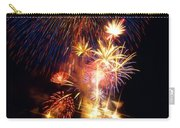 Washington Monument Fireworks 3 Carry-all Pouch by Stuart Litoff