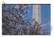 Washington Monument Carry-all Pouch by Susan Candelario