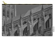 Washington National Cathedral  Bw Carry-all Pouch
