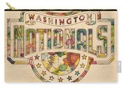 Washington Nationals Poster Art Carry-all Pouch