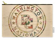 Washington Nationals Poster Vintage Carry-all Pouch