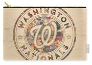 Washington Nationals Vintage Art Carry-all Pouch