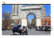 Washington Square Pianist Carry-all Pouch