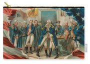 Washington Taking Leave Of His Officers Carry-all Pouch