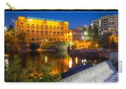 Washington Water Power Carry-all Pouch by Inge Johnsson