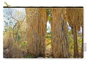 Washingtonian Fan Palms With Large Skirts In Andreas Canyon-ca Carry-all Pouch