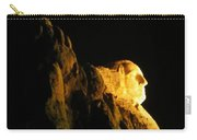 Washingtons Profile At Night Carry-all Pouch