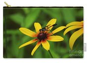 Wasp On A Susan Carry-all Pouch