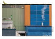 Waste-to-energy Plant Detail Oberhausen Germany Carry-all Pouch