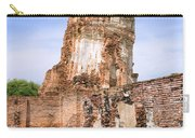 Wat Mahathat Temple In Ayutthaya Carry-all Pouch
