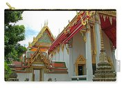 Wat Po In Bangkok-thailand Carry-all Pouch