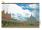 Wat Tha Sung Temple In Uthaithani-thailand Carry-all Pouch