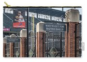 Watch Out For Batted Balls Carry-all Pouch by Susan Candelario