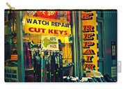 Watch Repair Shop - Keys Made Here Carry-all Pouch